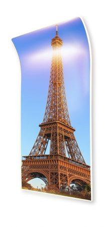 parizs ívelt panel