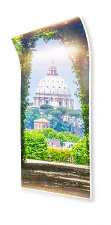 Roma ívelt infra panel